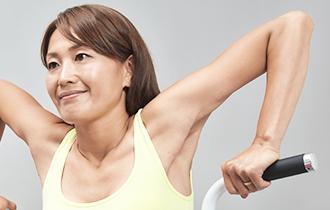 ②筋肉の弛緩と収縮の幅が大きい